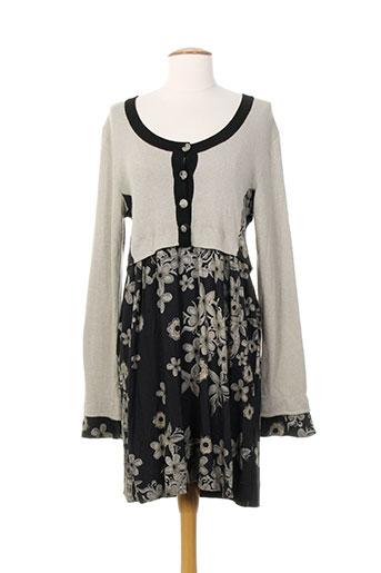 garancia robes femme de couleur gris