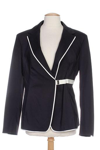 sportmax vestes femme de couleur noir