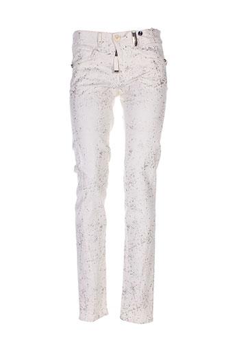 hich use pantalons femme de couleur beige