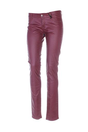 firetrap pantalons femme de couleur violet