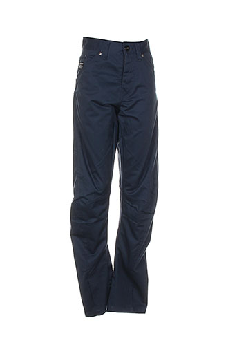 jack EFFI_CHAR_1 jones pantalons homme de couleur bleu