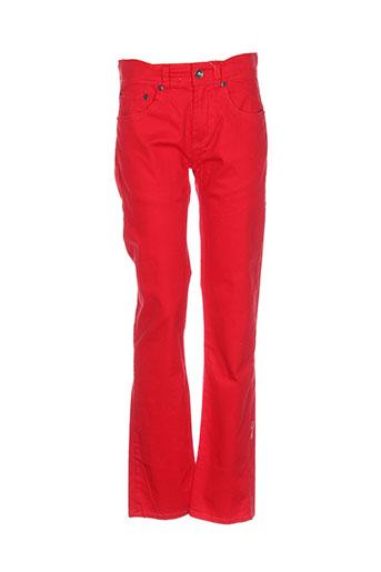 levis pantalons fille de couleur rouge