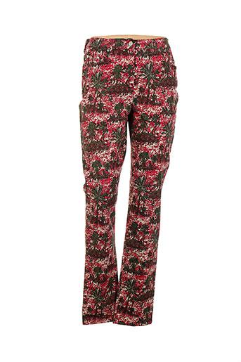 ernest le gamin pantalons femme de couleur rouge