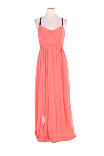 vero moda robes femme de couleur orange