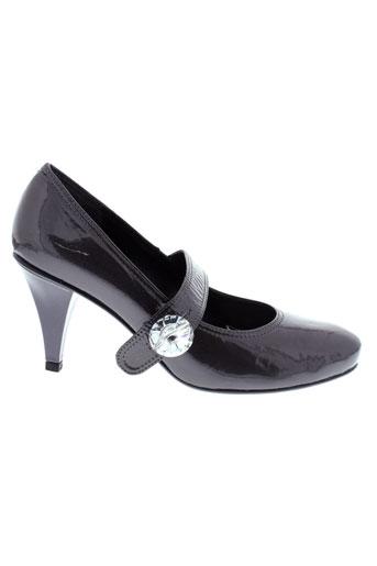 bijou de pied chaussures femme de couleur gris