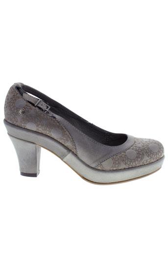 neosens chaussures femme de couleur gris