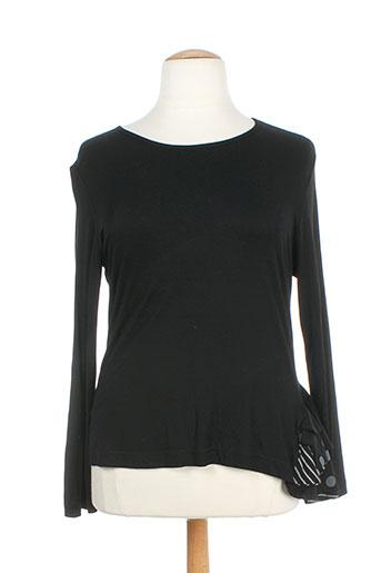lm la maille t-shirts femme de couleur noir