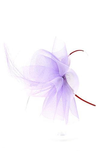 tout en tete accessoires femme de couleur violet