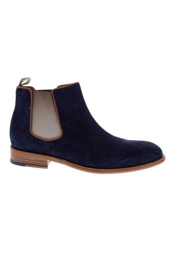 paradigma boots homme de couleur bleu