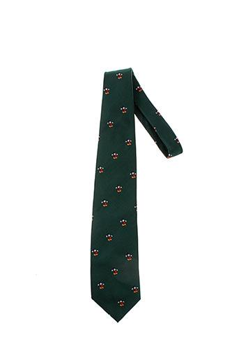 disney cravates homme de couleur vert