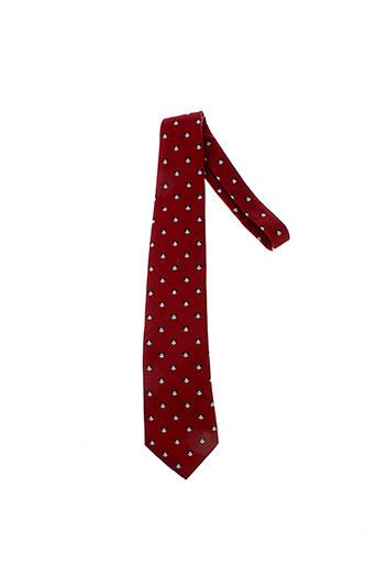 disney cravates homme de couleur rouge