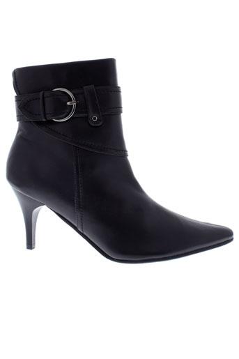 passeo boots femme de couleur noir
