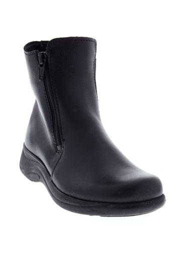 buggy boots fille de couleur noir