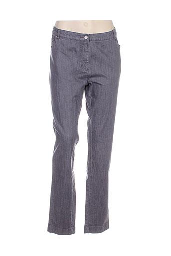 adolfo dominguez jeans femme de couleur gris