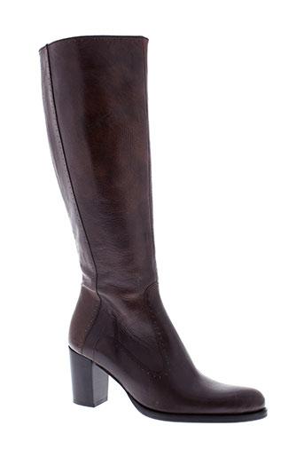 muratti bottes femme de couleur marron