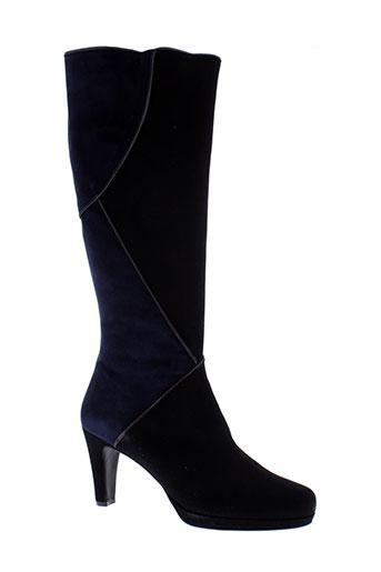 brenda et zaro bottes femme de couleur bleu