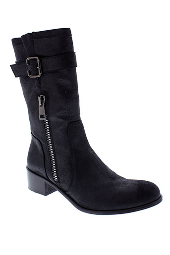 nimal boots femme de couleur noir
