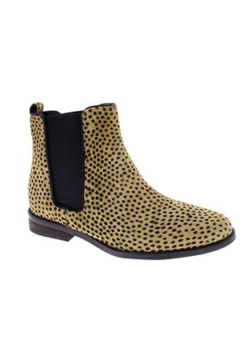 maruti boots femme de couleur beige