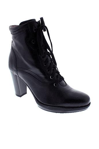 nero et giardini boots femme de couleur noir