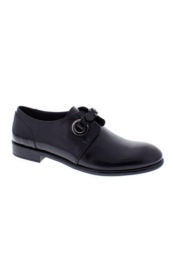 triver flight chaussures femme de couleur noir