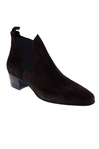triver et flight boots femme de couleur marron