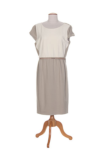 maxmara robes femme de couleur beige