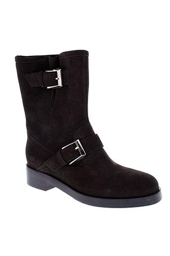 maxmara boots femme de couleur marron