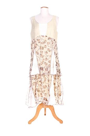 quattro robes femme de couleur beige