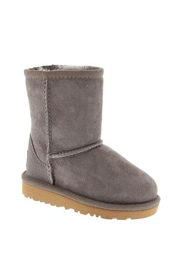 ugg boots fille de couleur gris