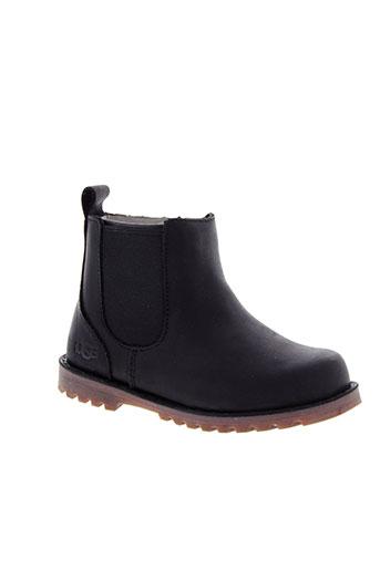 ugg boots garcon de couleur noir