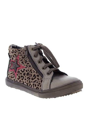 bopy boots fille de couleur marron
