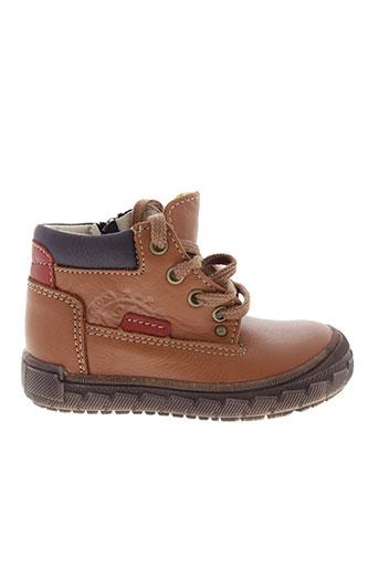 bopy boots garcon de couleur marron