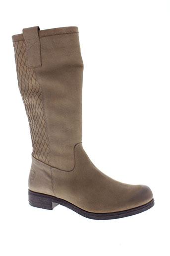 marco et tozzi bottes femme de couleur beige