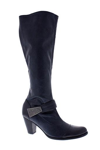fugitive bottes femme de couleur bleu