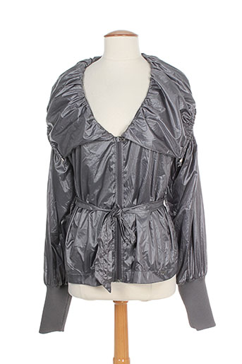 miss sixty manteaux femme de couleur gris