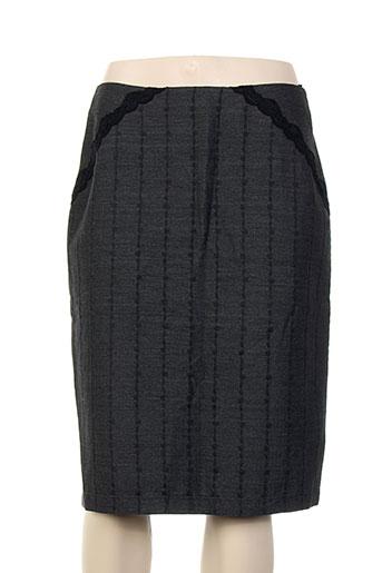 nathalie garcon jupes femme de couleur noir