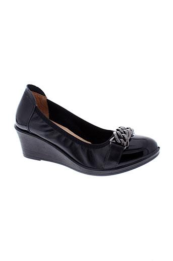 inea escarpins femme de couleur noir