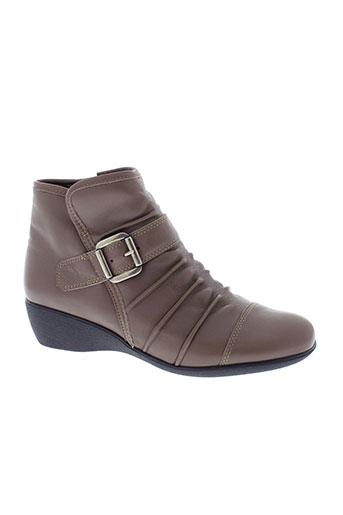 pedi et girl boots femme de couleur marron