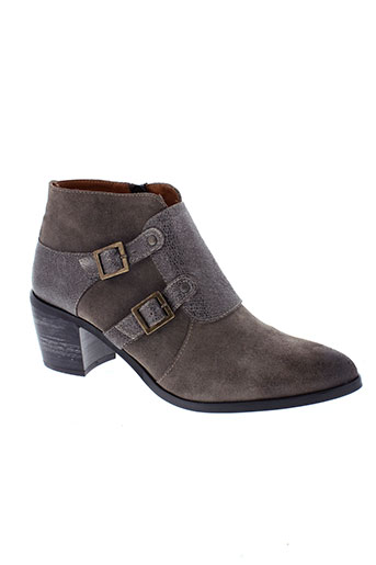 libre et comme et l et air boots femme de couleur gris