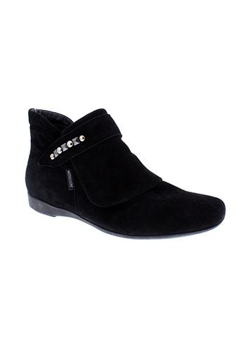 mephisto boots femme de couleur noir