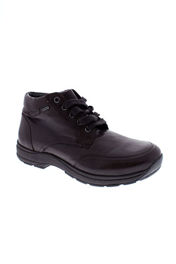 sioux chaussures homme de couleur marron