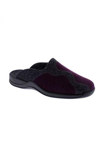 rohde pantoufle femme de couleur violet