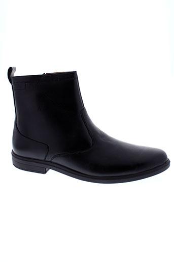 sledgers boots homme de couleur noir