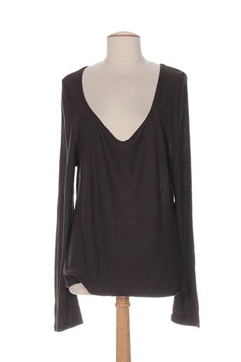 cannisse chemises femme de couleur marron
