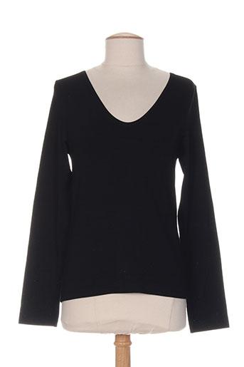 rimini t-shirts femme de couleur noir