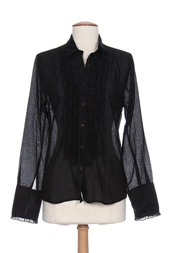 diega chemises femme de couleur noir