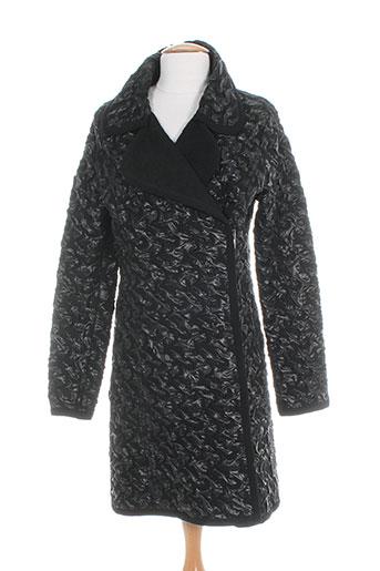 rodika manteaux femme de couleur noir