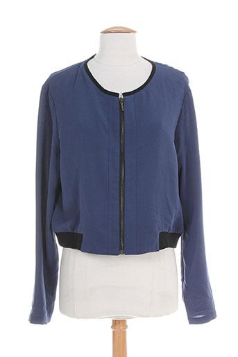 xo vestes femme de couleur bleu