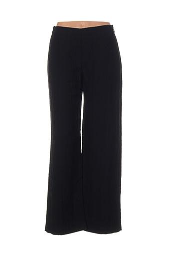 oska pantalons femme de couleur noir