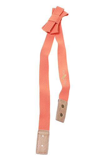 nice things accessoires femme de couleur orange